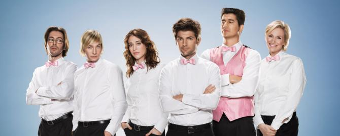 Party Down cast