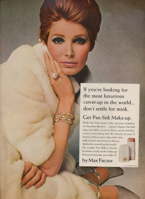 Max Factor ad from 1967